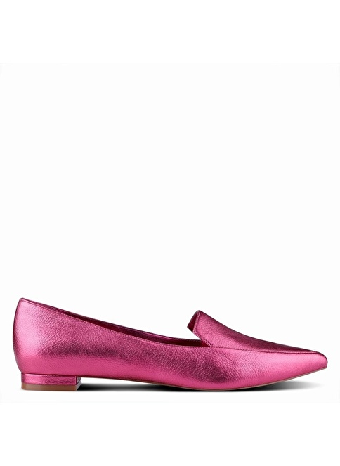 Nine West Hakiki Deri Babet Pembe